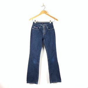 Tommy Hilfiger Roc Roc Jeans High Rise Button fly